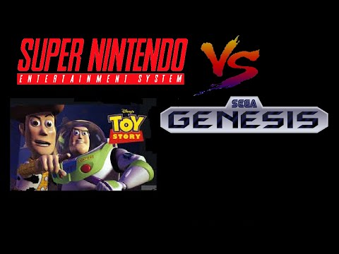 Toy story SNES vs Sega Genesis.Music OST/sound comparison