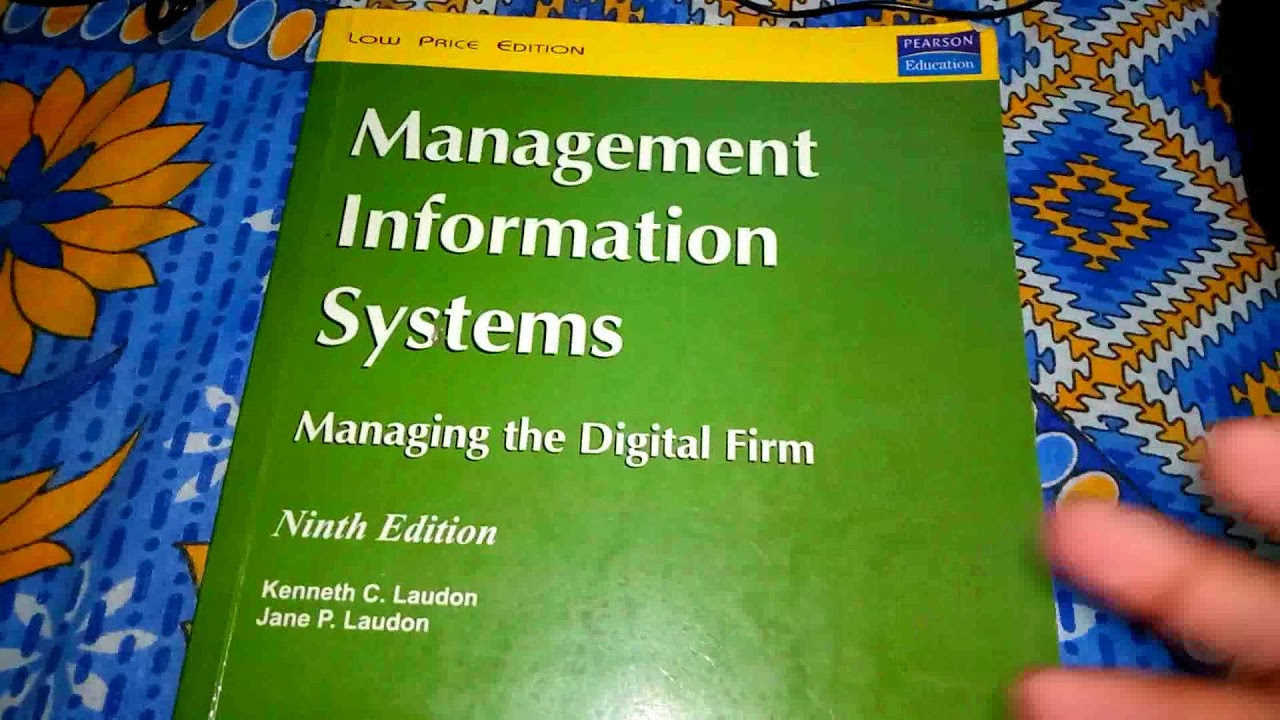 Management Information System | Kenneth C  Laudon | Jane Laudon