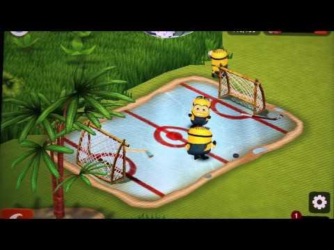 MINIONS Play Ice Hockey