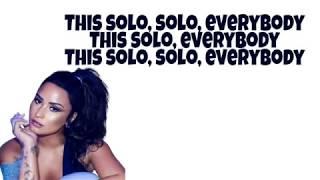 Clean Bandit - Solo [Lyrics] ft. Demi Lovato