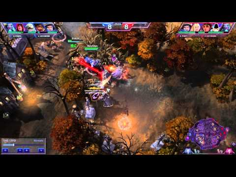 Heroes Of The Storm - Mercenary Steal 2 - Tyrael