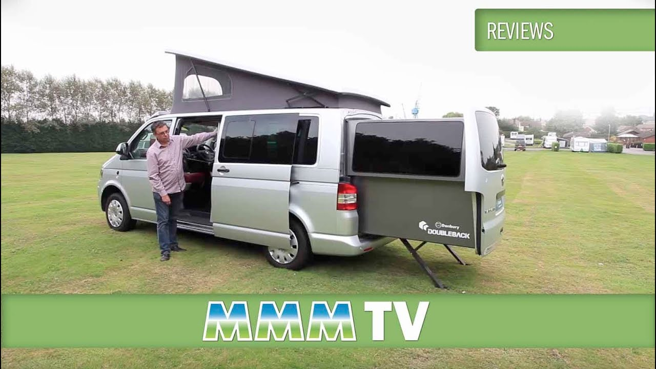 mmm tv motorhome review danbury doubleback vw campervan youtube. Black Bedroom Furniture Sets. Home Design Ideas