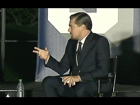 Leonardo DiCaprio & Obama Talk Climate Change At SXSL