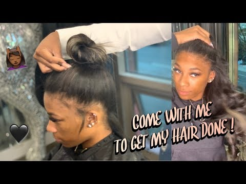 WATCH ME GET KERATIN STRIP EXTENSIONS ON MY NATURAL HAIR! | Gregory Banks Salon & Extensions