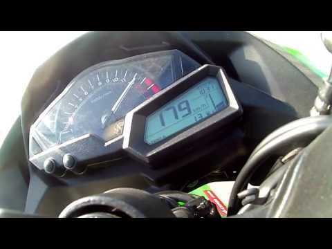 kawasaki ninja 300 top speed 191 km h 118 mph how to save money and do it yourself. Black Bedroom Furniture Sets. Home Design Ideas