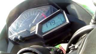 Kawasaki Ninja 300 TOP SPEED - 191 km/h 118 mph