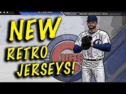 MLB THE SHOW 18 NEW RETRO JERSEYS & LEGEND TEAMS!!