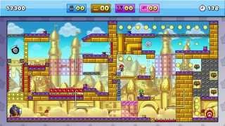 Mario vs Donkey Kong Tipping Stars - Custom Level Spotlight 1