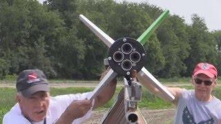 Terrier-Sandhawk N-M 2 Stage Rocket LDRS 34