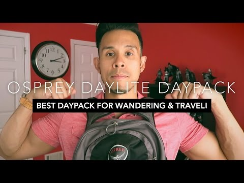 Osprey Daylite Review |  BEST DAYPACK BACKPACK FOR WANDERING & TRAVEL