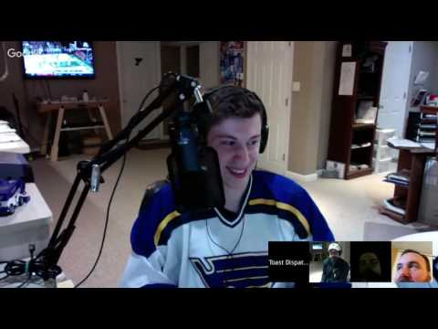 Toast Dispatch Radio S2 - E11: Hutton shuts out Pens, Barbashev Called up and MLS2STL moves forward