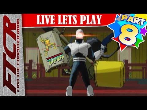 """'Teenage Mutant Ninja Turtles' (2003) Let's Play - Part 8: """"FTA Hates TJ"""""""