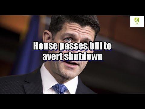 House passes bill to avert shutdown