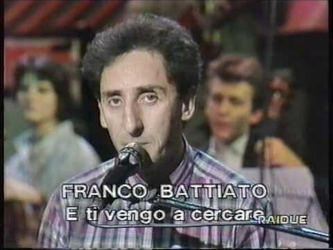 Franco Battiato in E ti vengo a cercare. Live con...