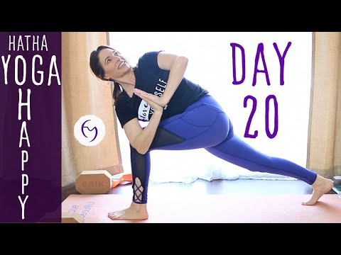 Day 20 Hatha Yoga Happiness: laughter is the best medicine