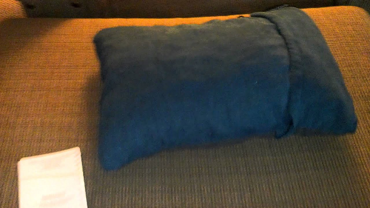 Thermarest Compressible Pillow - YouTube