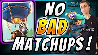 ALL The Pros Are Using THIS Balloon Deck! BEST DECK IN CLASH ROYALE?!