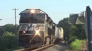 Evening Railfanning At Shenandoah Junction, WV 8-9-19