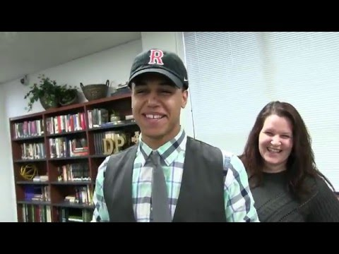 DePaul Catholic High School - Nick Smith Signing Day Interview