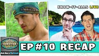 Survivor San Juan Del Sur Episode #10 Recap | Know-It-Alls LIVE | Wednesday, November 26, 2014