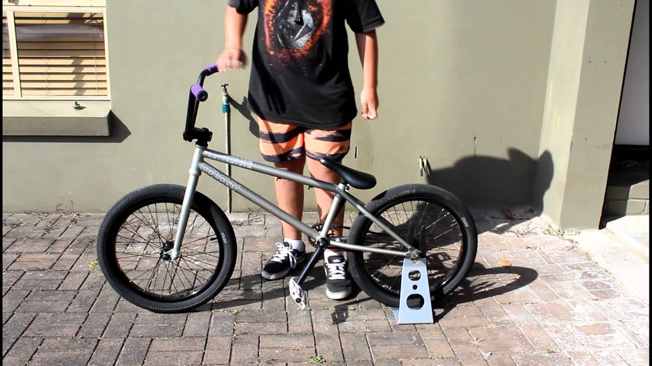 jlshedden: Colony The Living Bike Check - YouTube