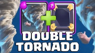 DOUBLE TORNADO TROLL DECK = OP | Clash Royale | Trolling the Miner