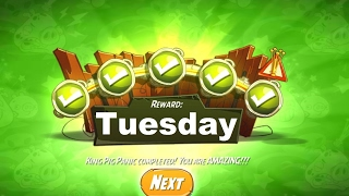 Angry Birds 2 Daily Challenge Completed Reward Tuesday