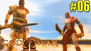God Of War 2 - Modo Titan - Kratos Vs Teseu (06)