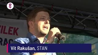 Demonstrace 5. 6. 2018 - Vít Rakušan (STAN)