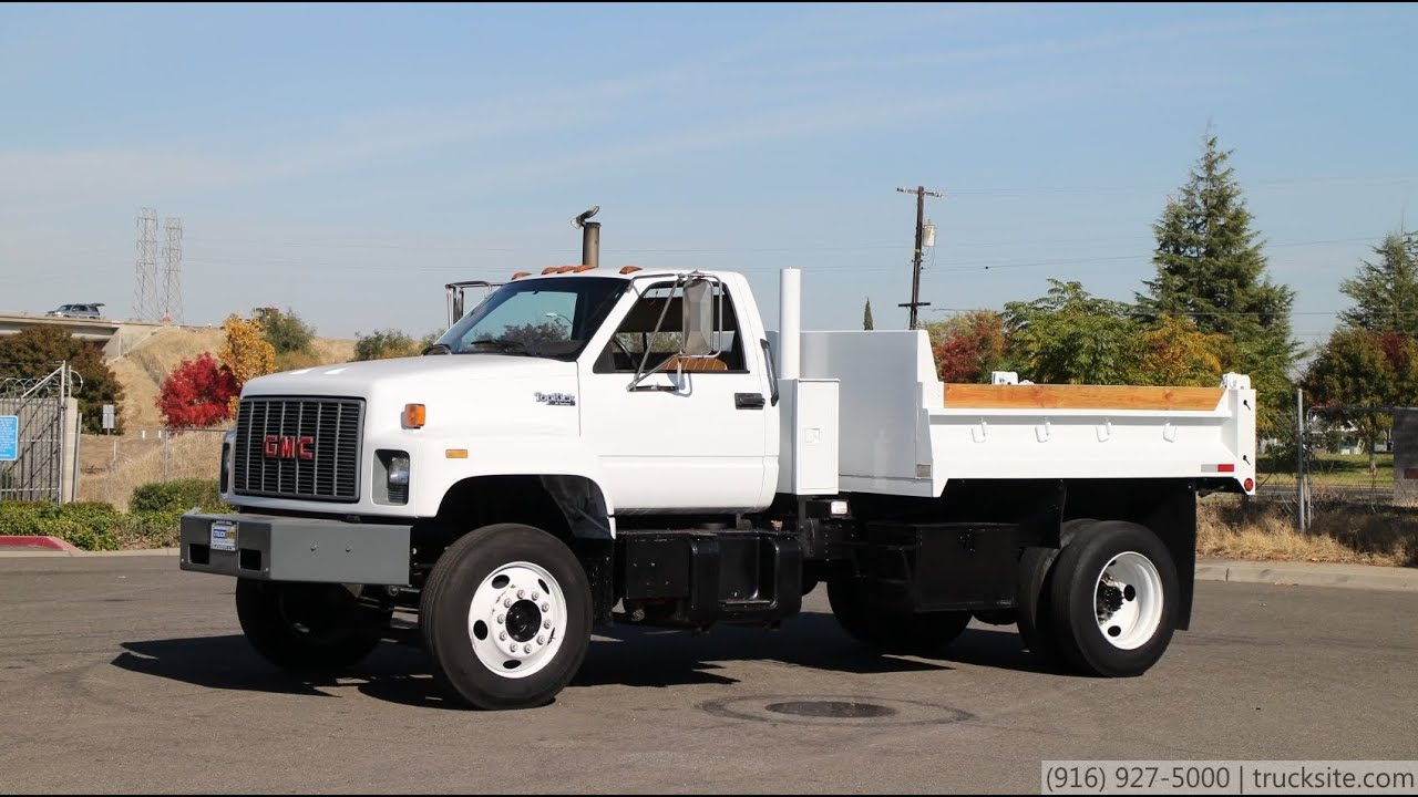 1994 Gmc Topkick 3 5 Yard Dump Truck For Sale By Truck