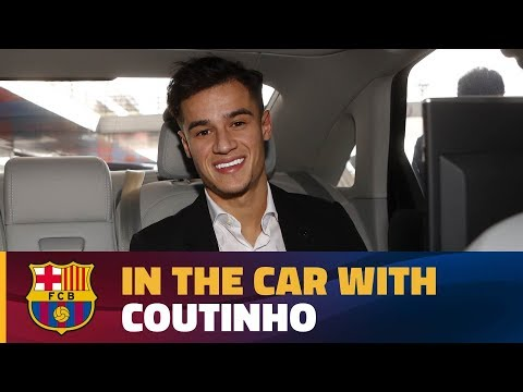 Coutinho's Chat In The Car On His Way To The Camp Nou!