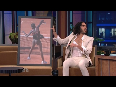 Russell Brand & Venus Williams Behind - Full Interview - YouTube