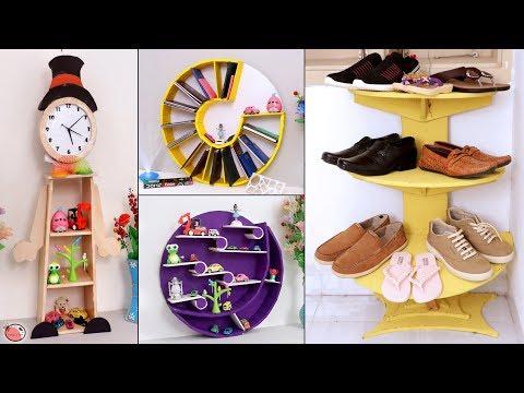 8 Home Useful Cardboard Organization Ideas !!! Beautiful Handmade Craft