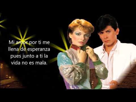 Mi amor por ti - Alvaro Torres y Marisela (Letra)