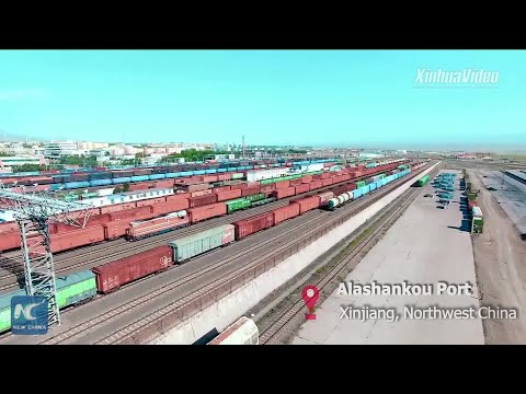 Customs clearance efficiency improved for China-Europe freight trains in Xinjiang