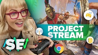 Project Stream: AAA games, no console required | Stream Economy
