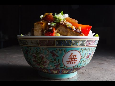Colourful Tofu Stir-Fry