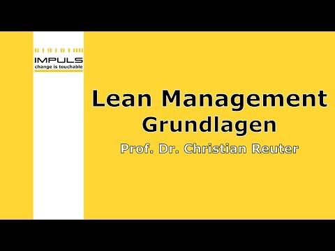 Lean Management Webinar - Grundlagen Lean Management