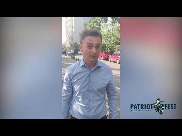 Interviu Patriotfest - Radu Motisan | Participă și tu pe patriotfest.ro!