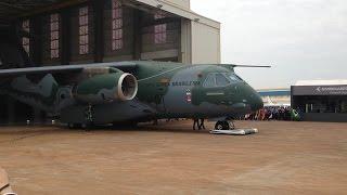 Lançamento KC-390 - novo avião militar da Embraer