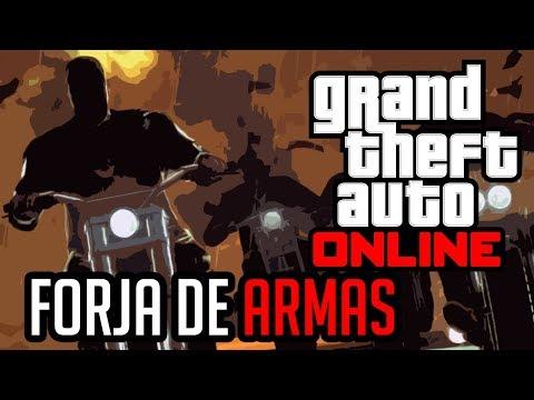 FORJA DE ARMAS | GRAND THEFT AUTO ONLINE Universe Rp #2
