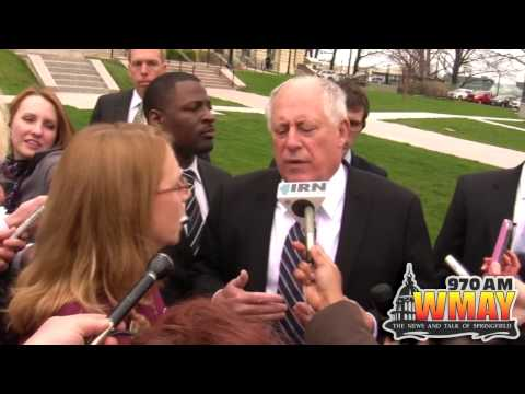 Governor Quinn Confronted on Planned Developmental Center Closure
