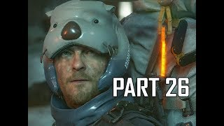 DEATH STRANDING Walkthrough Part 26 - Ice Mountains (PS4 Pro)