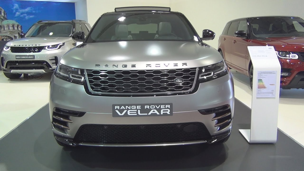 Land Rover Range Rover Velar First Edition D300 Hse 2018 Exterior And Interior Youtube