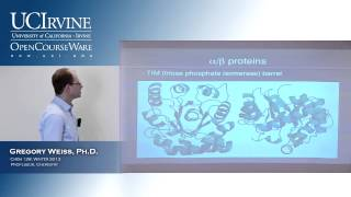 Introduction to Chemical Biology 128. Lecture 12. Protein Functions.