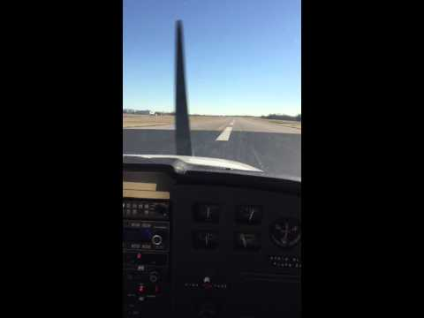 Landing at Richmond, Kentucky airport -- I39
