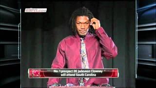 Jadeveon Clowney Picks the South Carolina Gamecocks Over Clemson and Alabama