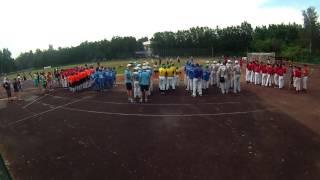 Награждение. Первенство России по бейсболу 2016 (кадеты)
