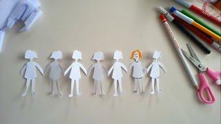 Krigami Elele Tutuşan Çocuklar / Sanatın Renkleri
