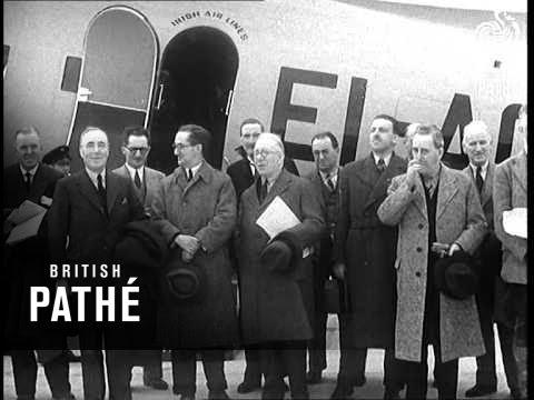 Irish Trade Mission Here (1940)